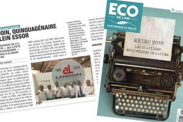 ECO de l'Ain : Retrospective 2018