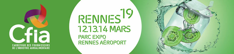 Salon CFIA de Rennes – 12 au 14 mars 2019