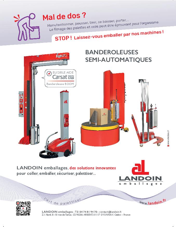 LANDOIN emballages dans le TOP300 des entreprises de l'Ain 1