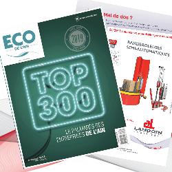 LANDOIN emballages dans le TOP300 des entreprises de l'Ain 2