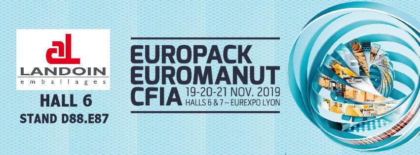 Salon EuroPack EuroManut CFIA de Lyon : 19-20-21 Novembre 2019