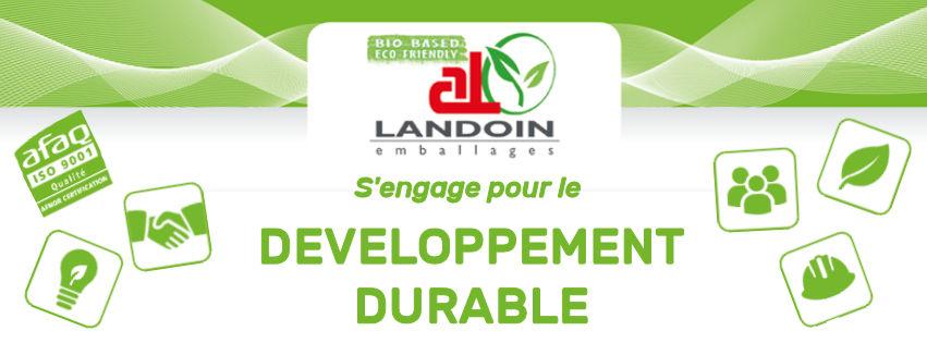 LANDOIN emballages engagé dans le Développement Durable