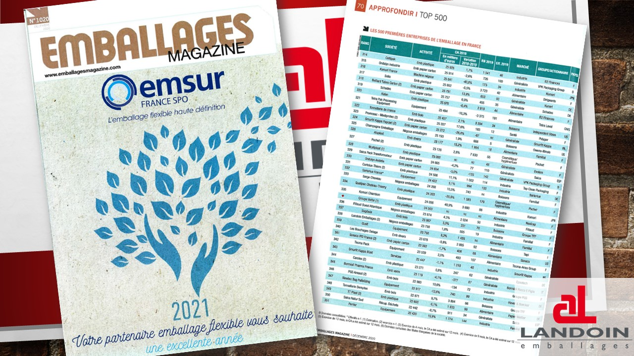 Top500 emballages magazine