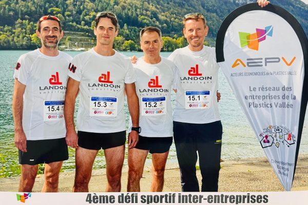 LANDOIN emballages au 4e Défi Sportif AEPV 2