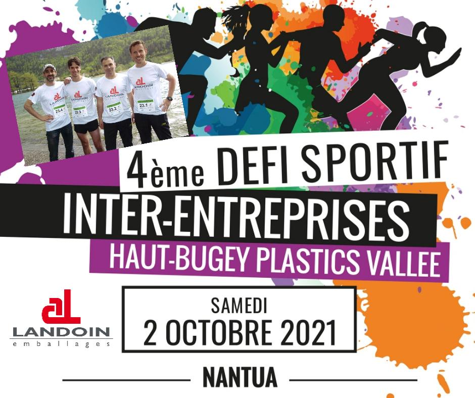 LANDOIN emballages au 4e Défi Sportif AEPV